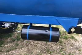 Barrel for water mzht-10 on wheels