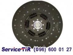 Clutch disk Duff XF95