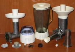 "Details, spare parts, attachments for the food processor ""MRIYA"""