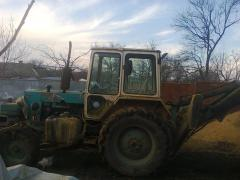 excavator EO 2621 on the basis of UMZ 6 KL