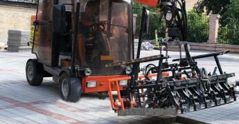 Improvement: mechanical, hand-laying FEM, curbs