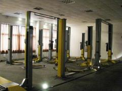 Lifts,cranes,presses,beams,hydraulics for STO