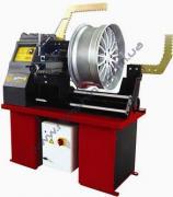 Machine for straightening disks for straightening disks