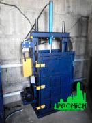 Press for waste paper and PET bottles hydraulic 5 tons