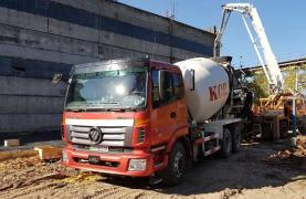 Truck mixer ABS-9 KOBALT