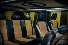 Тюнінг Внутрішній Переобладнання мікроавтобусів бусів, салон в мікроавтобус авто